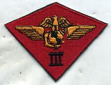 Vietnam Era USMC 3rd Marine Air Wing Patch Cut Edge
