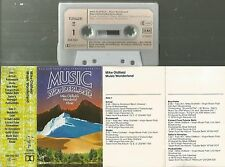 Q MC Kassette Music Wonderland Mike Oldfields wonderful Music / Virgin