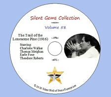 """DVD """"The Trail of the Lonesome Pine"""" (1916) Cecil DeMille, Classic Silent Drama"""