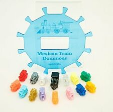 Mexican Train Dominoes Center Piece Hub & Accessories-Free Shipping-12 Players