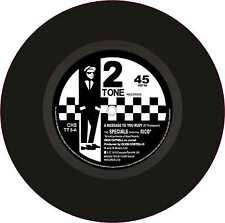 "Ska 2Tone Exterior Vinyl 7"" 178mm Decals The Specials ft Rico A Message to Rudy"