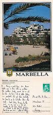 1980's MARBELLA COSTA DEL SOL SPAIN COLOUR POSTCARD