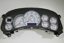 REMAN 99-02 HD2500 WHITE GAUGE ESCALADE PLATINUM CLUSTER RED POINTERS *EXCHANGE*