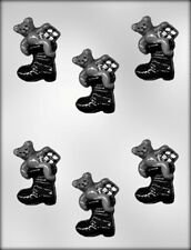 BEAR IN BOOT CHRISTMAS CHOCOLATE CANDY MOLD MOLDS PARTY FAVORS