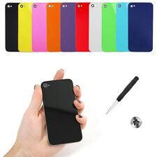 10 X Original Vidrio Repuesto Tapa Trasera Batería Panel Para Iphone 4 Y Regalos Gratis