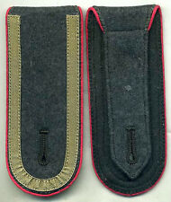German WWII Type Pink Panzer NCO Shoulderboards