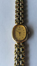 Ladies SEIKO Gold Tone Analog Quartz Watch 2Y00-5050