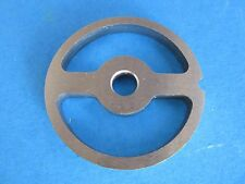 #8 Meat Grinder plate disc Kidney plate for Sausage Stuffing LEM Cabelas MTN etc