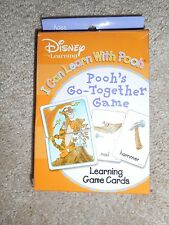 Disney Learning ~ Pooh's Go Together Learning Card Game ~ Preschool