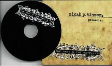 Micah P.Hinson ‎– Presents: The Baby & The Satellite ‎CD Album Limited Edit 2005