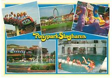 POSTCARD - ROLLER COASTER - amusement park the Netherlands, Slagharen #001