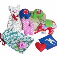 Buttonbag SEWING KIT Children Kids Craft Sewing Beginner Art Suitcase BN