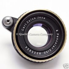 Carl Zeiss Jena Pancolar 50mm f/2 - 1960s EXAKTA MOUNT FAST NORMAL GREAT BOKEH!!
