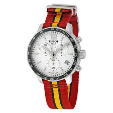Tissot Quickster Miami Heat NBA Special Edition Silver Dial Mens Watch