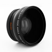 0.45x Wide Angle Lens w/ Macro for Sony Alpha A6000 ILCE-6000L ILCE-6000 camera