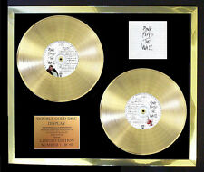 PINK FLOYD THE WALL DOUBLE ALBUM CD GOLD DISC FREE POSTAGE!!