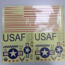 Unique RC model plane Sticker Tatoo spare Part for pilatus PC-9/T6 warbird hot