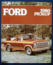 Prospekt brochure 1980 Ford Pickup Trucks (USA)