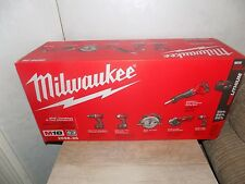 Milwaukee M18 18-Volt Lithium-Ion Cordless Combo Kit (6-Tool) 2696-26 BRAND NEW!