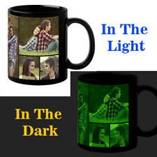 Black Glow In Dark Personalized Customized Photo Coffee Mug Birthday Gift