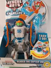TRANSFORMERS Playskool Rescue Bots Energize BLADES The Copter - Bot Transforming