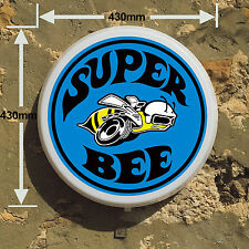 SUPER BEE USA DODGE  Light Box LED Games Room Sign man cave garage workshop