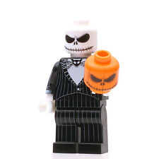Custom Print Design LEGO Minifigure - NBC Pumpkin King