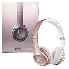 SOLO 2 BEATS BY DR. DRE WIRELESS HEADPHONES ROSE GOLD - SEALED