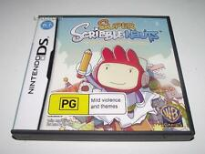 Super Scribblenauts Nintendo DS 2DS 3DS Game Preloved *Complete*