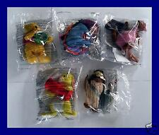5 McDONALDS HAPPY MEAL TOYS 2002 STILL SEALED BEAR MULE KANGAROO RABBIT OWL