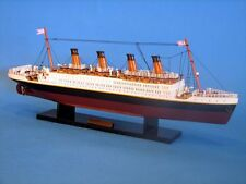 RMS TITANIC Model Ship Wooden Replica 20 Inch New 1:530 Scale Accurate Assembled