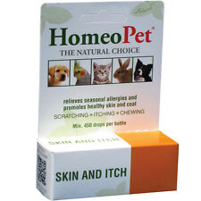 HomeoPet Skin & Itch Relief Dog Cat & Pet Allergies Insect Bites Skin Irritation