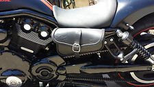 BAG FOR HARLEY DAVIDSON V ROD NIGHT ROD, LEFT SIDE - ENDS CUOIO