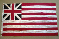 COTTON. First American Flag. Revolutionary War Flag. Grand Union Flag