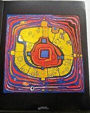 Friedensreich Hundertwasser Poster The Small Way 14x11 Offset Lithograph