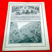 Vintage 1912 Forest and Stream Magazine