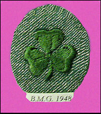 1948 Girl Scout OVAL SECOND 2nd CLASS Patch NEW Badge, Insignia Multiples