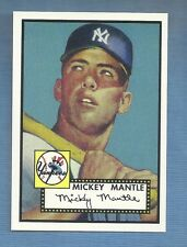 1952 Mickey Mantle Rc  ROOKIE New York Yankees  Fridge Magnet