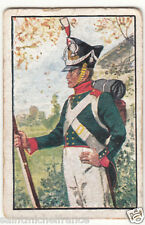 Infantry Hanseatic Legion Hansa Städte Army Napoleon War Uniform IMAGE CARD 30s