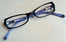 Spectacle Eyeworks NOS Model SE-99 Color #294 Navy/Lavender Eyeglass Frames