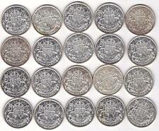 20x 1951 Canada Half Dollars 50 Cents 20-Coins all EF or better all nice coins
