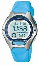 Casio Women's Blue Resin Watch, Alarm, 50 Meter WR, Alarm, LW200-2BV
