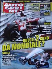 Autosprint 20 2010 Gp Montecarlo WEBBER seconda vittoria su VETTEL  [SC.49]