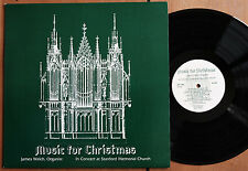 WILSON AUDIO W-806 James Welch MUSIC FOR CHRISTMAS Organ - AUDIOPHILE LP