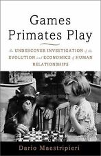 Games Primates Play : An Undercover Investigation of the Evolution.....302 pages