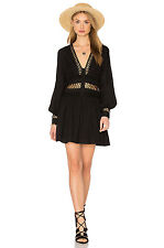 NWT FREE PEOPLE I Think I Love You Dress in Black $128 - 6