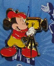 A8  DISNEY  PIN SEDESMA MICKEY MOUSE MOVIE MAKER Red SHIRT