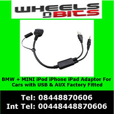 6112044079 Kabel zu AUX Adapter für BMW, MINI Cooper iPod iPhone iPad interface