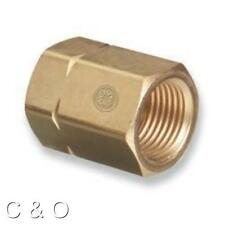 WESTERN # 61 ACETYLENE ADAPTOR CGA-300 TO CGA-510 COMMERCIAL to POL REGULATOR