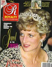PRINCESS DIANA UK Royalty Magazine 3/92 Vol 11 No 6 QUEEN ELIZABETH